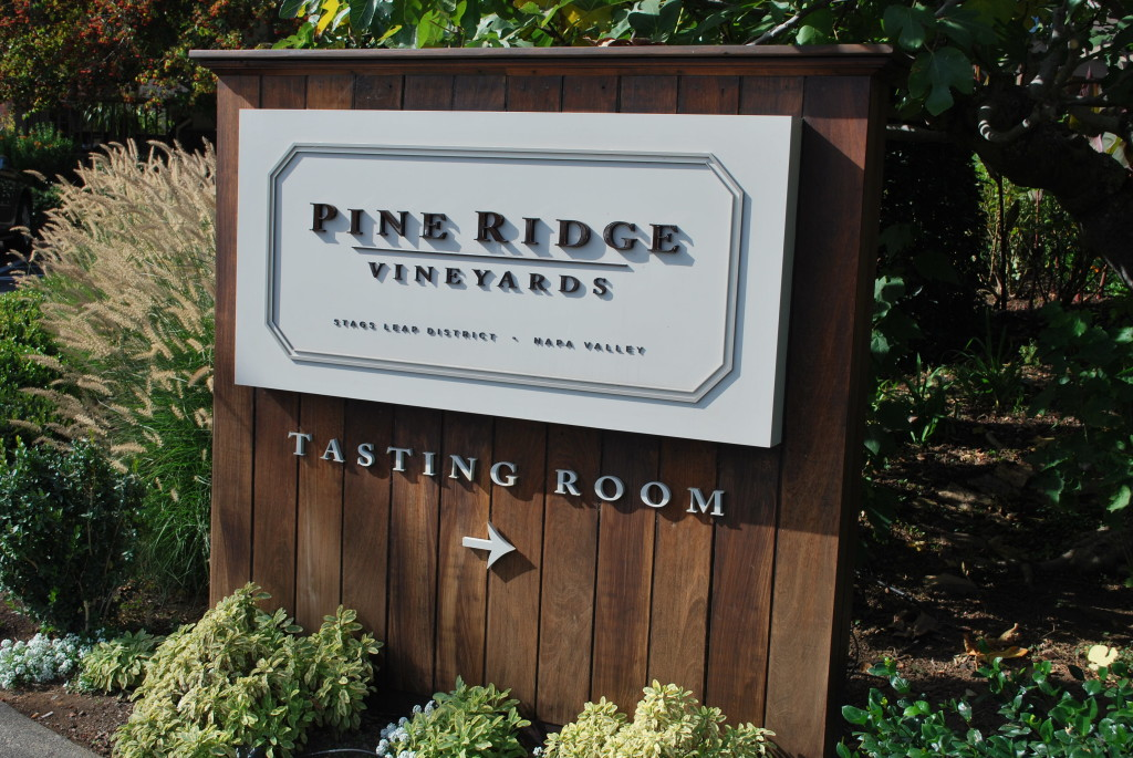 Pine Ridge Vineyards Napa California