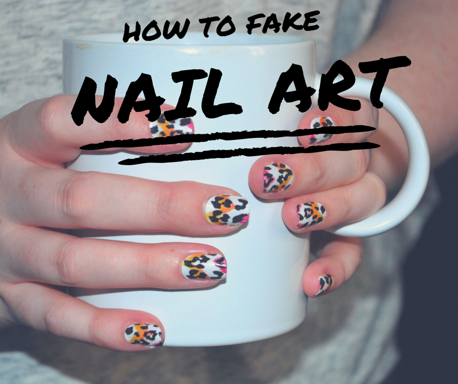 How to fake nail art as told by ash and shelbs how to fake nail art solutioingenieria Images