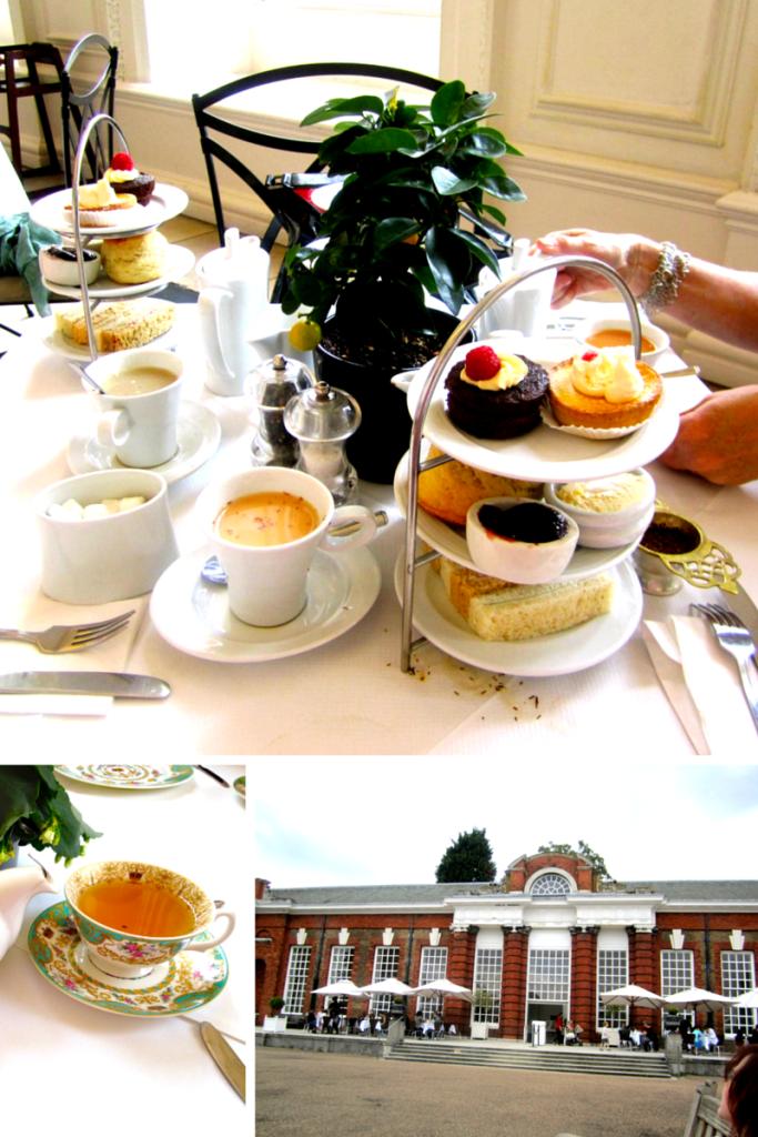 Tea Orangery London England