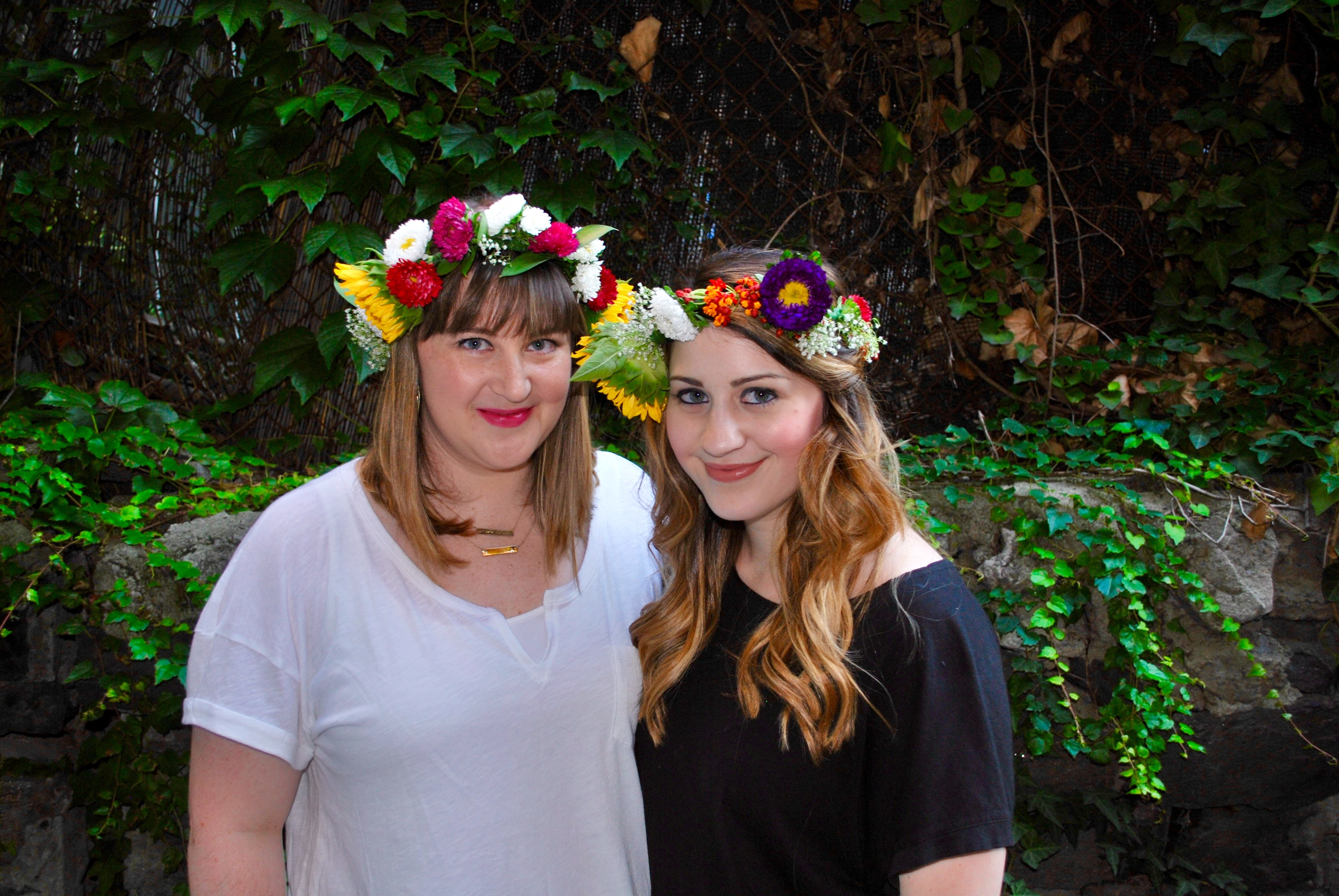 DIY Flower Crowns - As Told By Ash and Shelbs b8173968c19