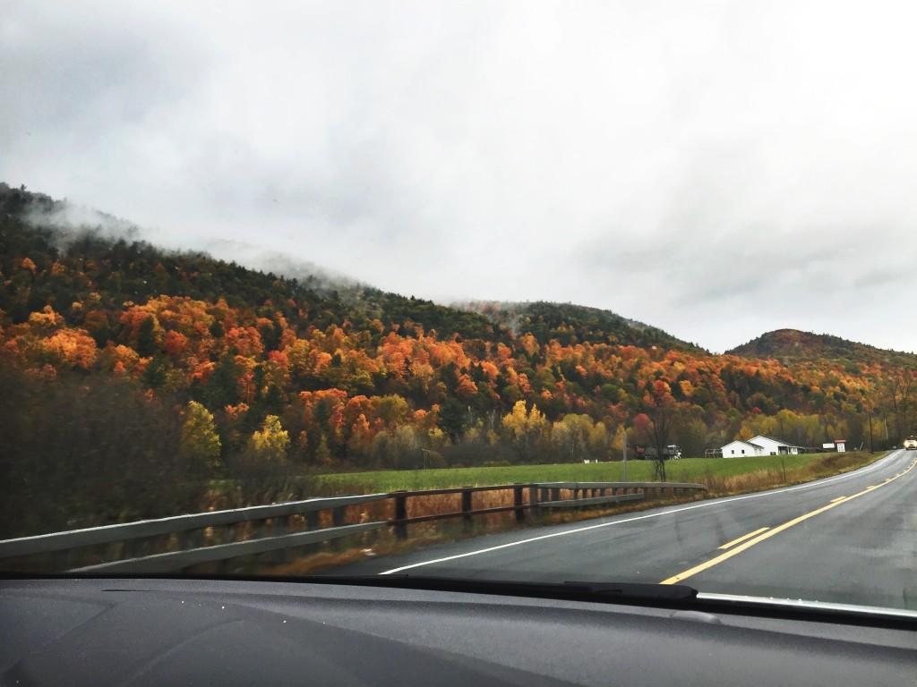 autumn in vermont