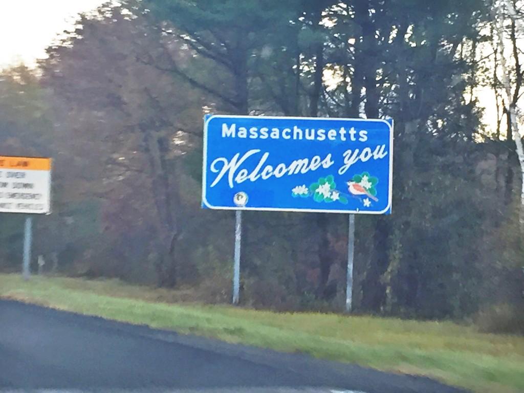 massachusetts border