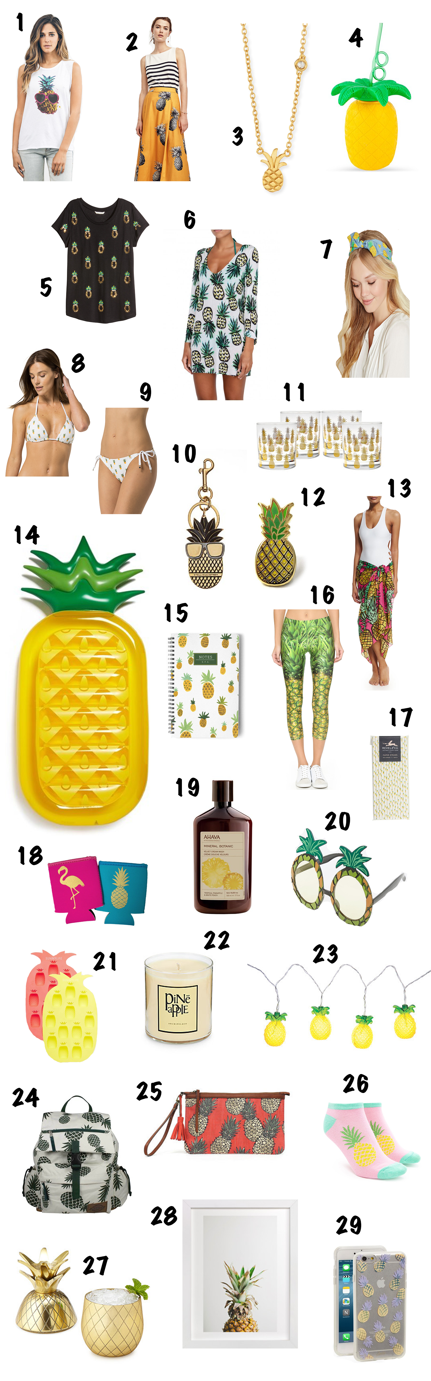 29 pineapple things you need