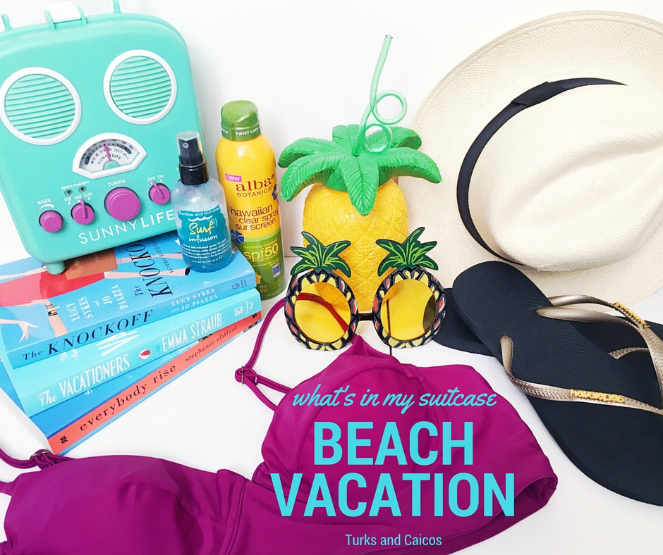 What's in My Suitcase | Beach Vacation