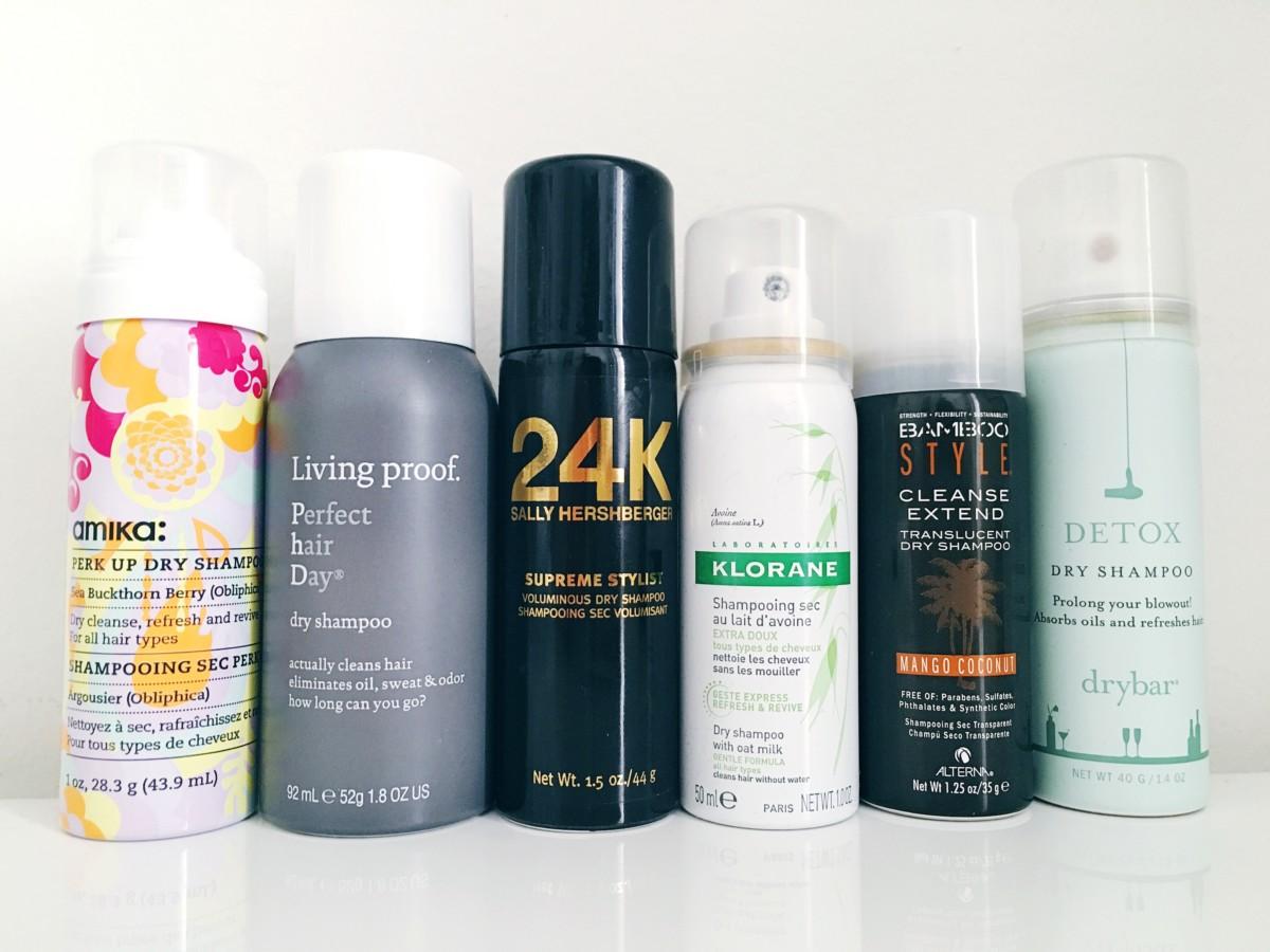 Dry Shampoo Round Up