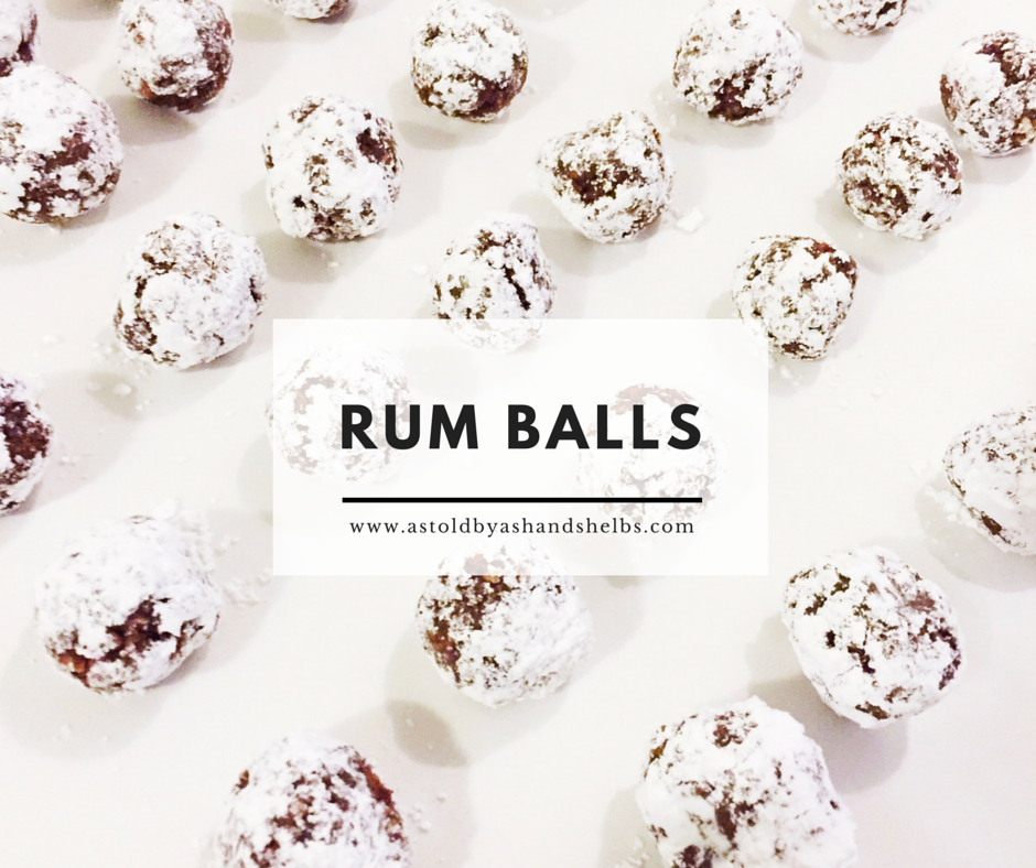 Rum Balls I Recipe — Dishmaps