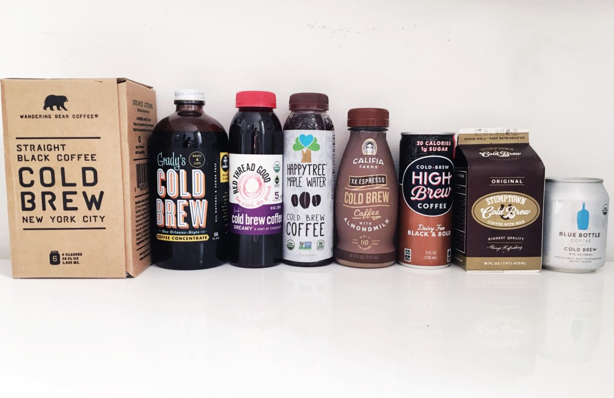 cold brew coffee round up