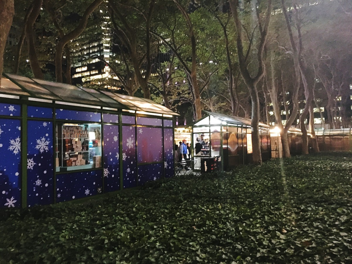 Bryant Park Christmas Market.Bryant Park Winter Village As Told By Ash And Shelbs
