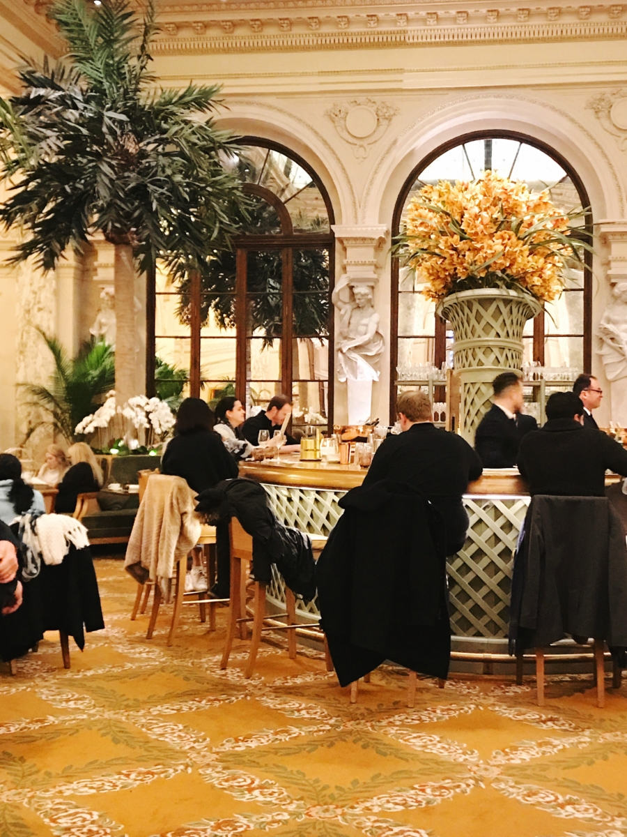 Afternoon Tea At The Plaza Hotel