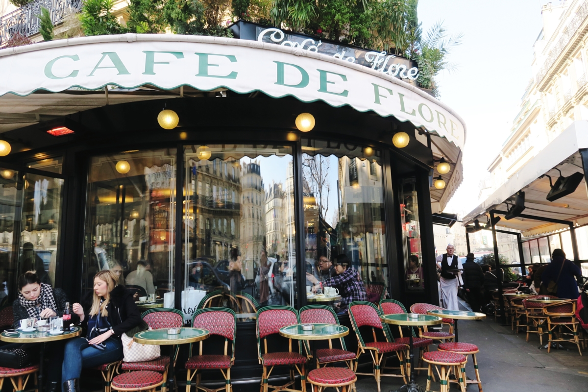 Cafe Paris Le Flore Daho