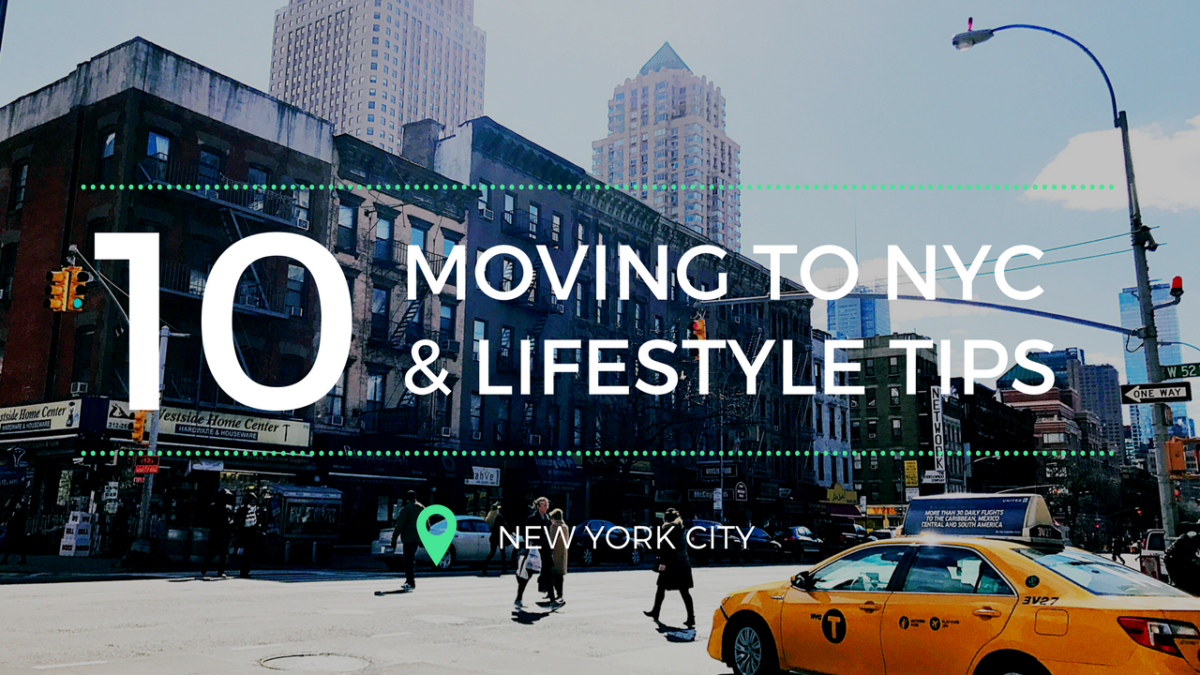 Moving To New York City 101