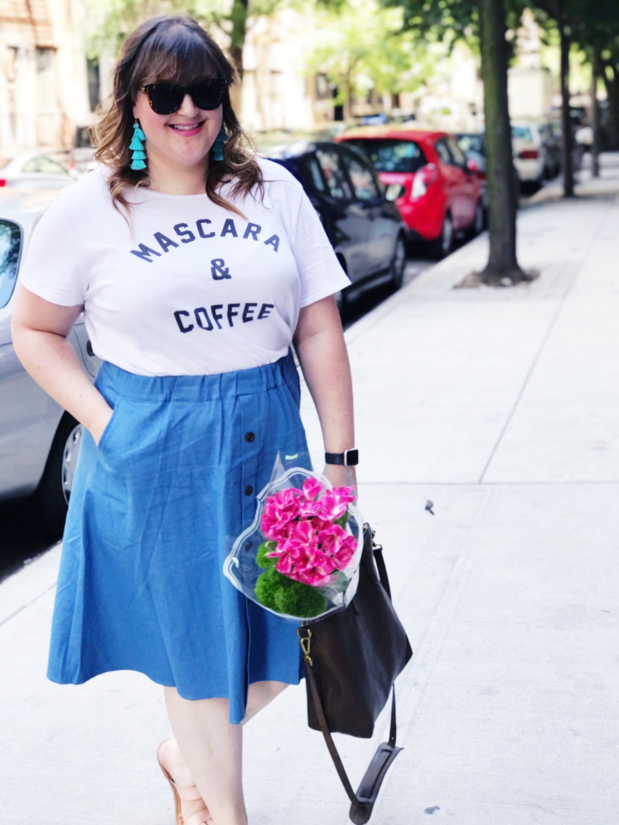 An Ode To Coffee, Mascara, and Denim