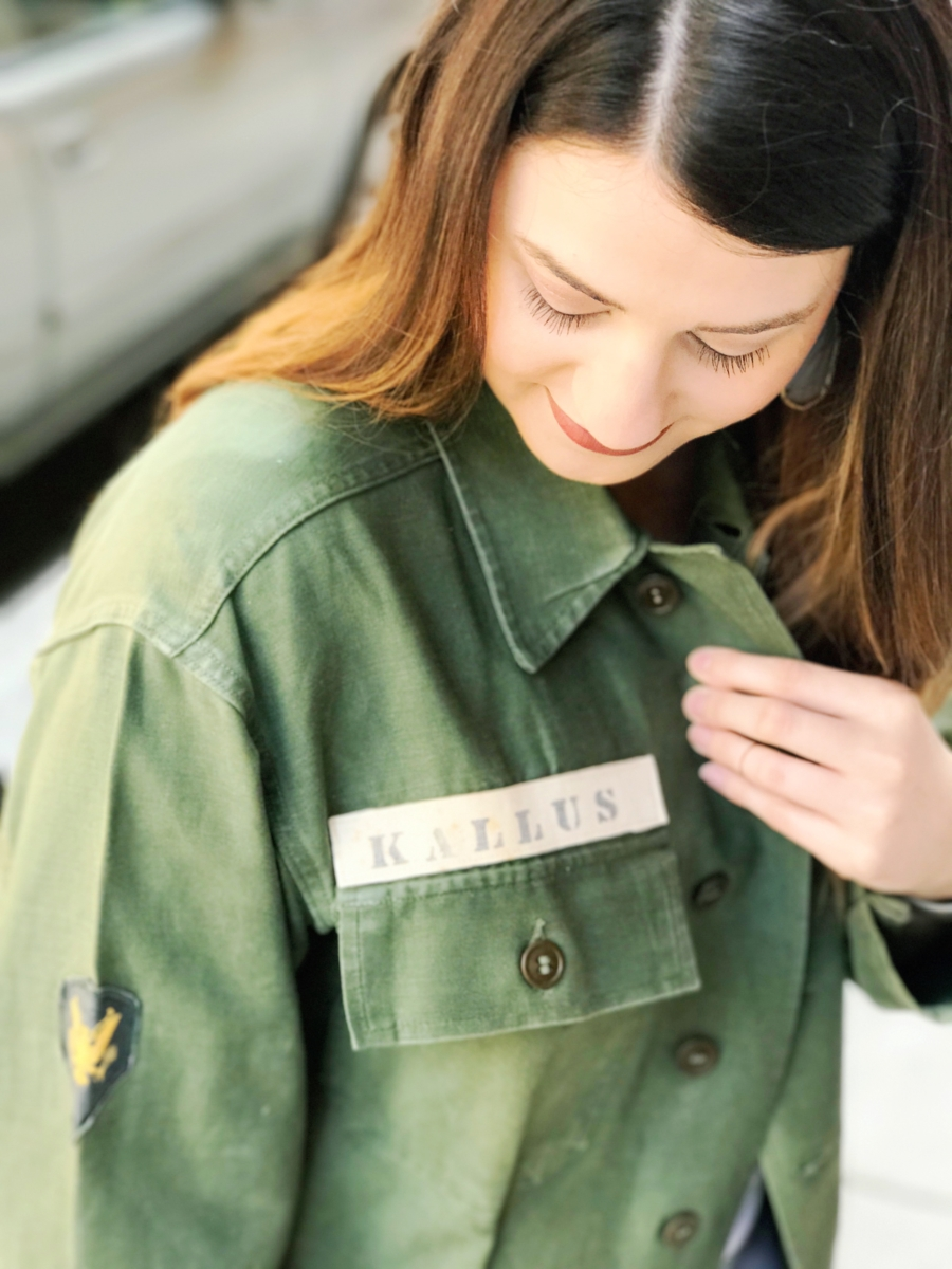 Fashion Meets Military | My Favorite Army Jacket