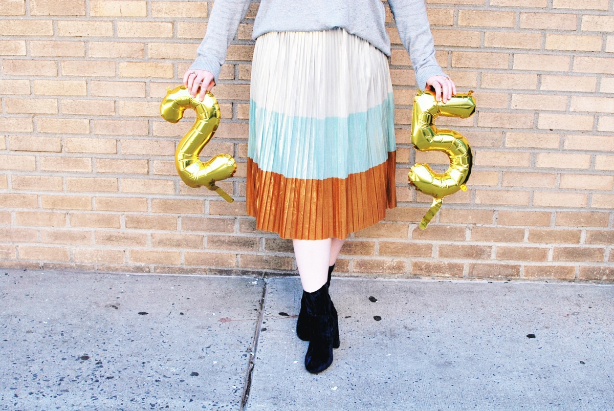 25 Thoughts On My 25th Birthday