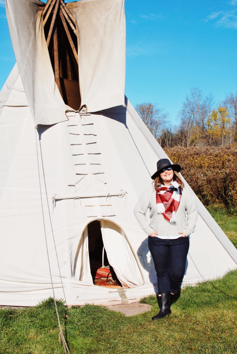 What Do You Wear When You Stay In A Tepee?