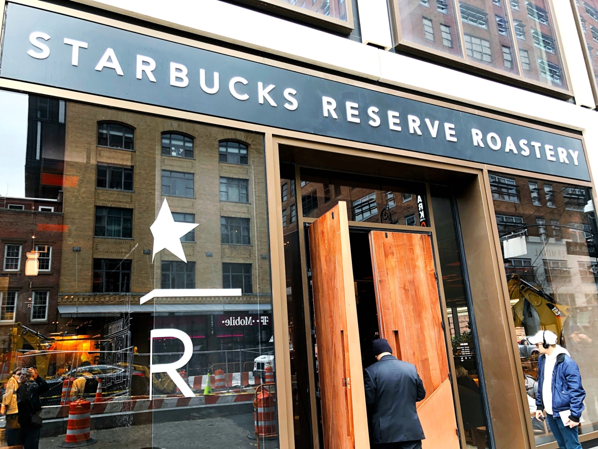Starbucks Reserve Roastery New York As Told By Ash And